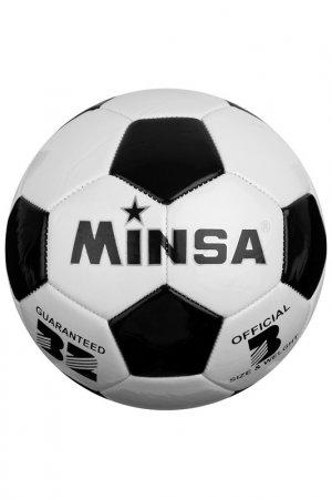 Мяч Minsa. Цвет: белый, черный