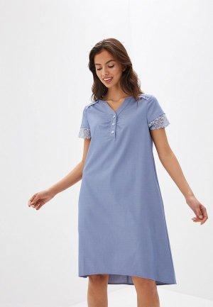 Платье Argent. Цвет: голубой