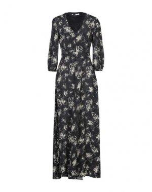 Длинное платье CARACTÈRE. Цвет: стальной серый