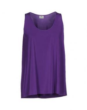 Майка SIYU. Цвет: фиолетовый