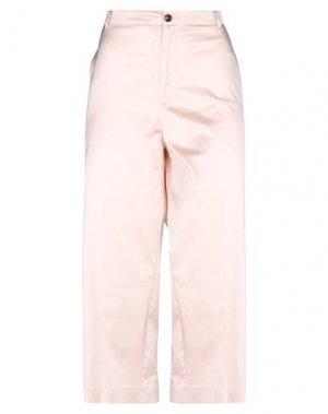 Повседневные брюки TRUE TRADITION. Цвет: светло-розовый