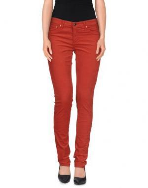 Повседневные брюки AG JEANS. Цвет: кирпично-красный