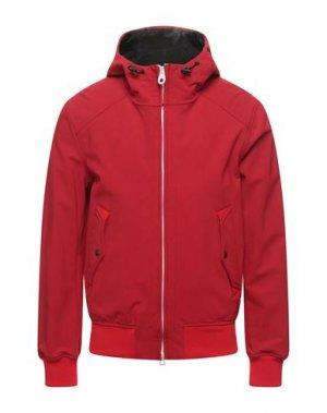 Куртка HISTORIC. Цвет: красный