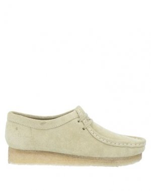 Обувь на шнурках CLARKS ORIGINALS. Цвет: бежевый