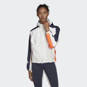Ветровка W.N.D. adidas. Цвет: белый