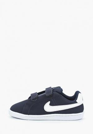Кеды Nike BOYS COURT ROYALE (TD) TODDLER SHOE. Цвет: синий