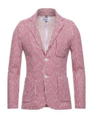 Пиджак DISTRETTO 12. Цвет: красный