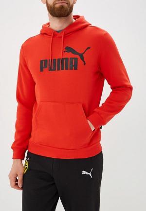 Худи PUMA ESS Hoody FL Big Logo. Цвет: красный