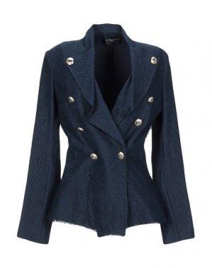 Пиджак ATOS LOMBARDINI. Цвет: темно-синий
