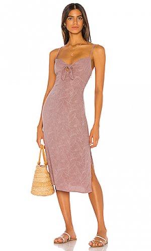 Платье-майка amanda L*SPACE. Цвет: розовый