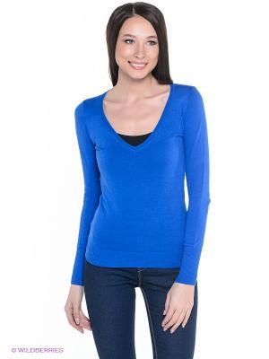 Пуловер Alcott. Цвет: прозрачный, синий