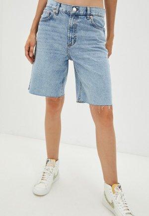 Шорты джинсовые Mango ARIADNA. Цвет: голубой