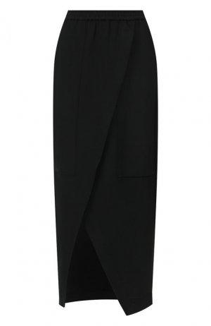 Юбка из вискозы Roque. Цвет: чёрный