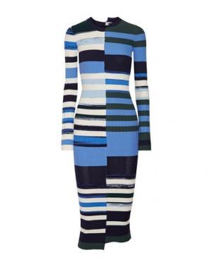 Длинное платье OPENING CEREMONY. Цвет: темно-синий