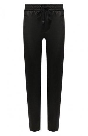 Укороченные брюки-скинни Koral. Цвет: чёрный