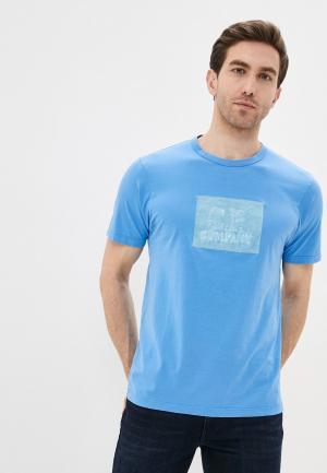 Футболка C.P. Company. Цвет: голубой