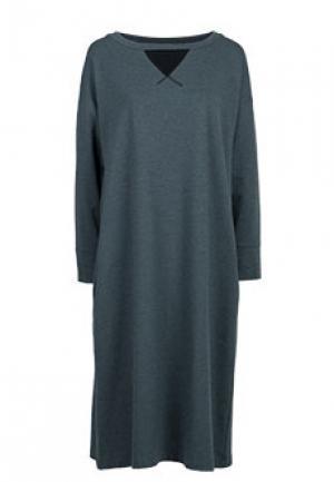 Платье CLIPS. Цвет: серый