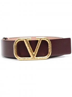 Ремень с пряжкой VLogo Valentino Garavani. Цвет: красный