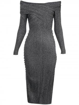 Платье Mattie Altuzarra. Цвет: серый