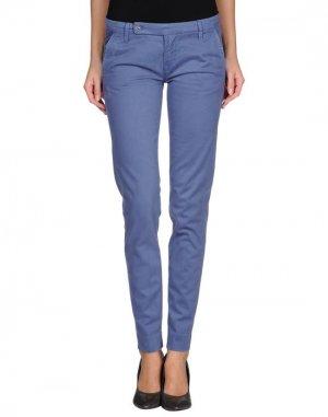 Повседневные брюки FRESHJIVE. Цвет: грифельно-синий