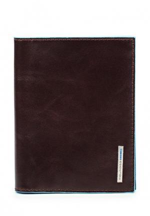 Обложка для документов Piquadro. Цвет: коричневый