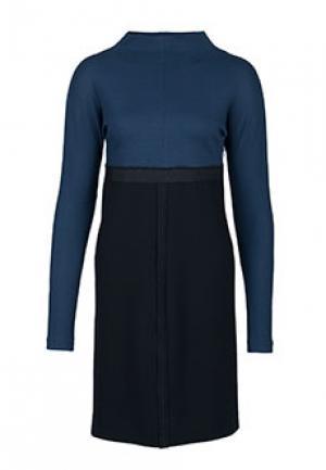 Платье ALBINO. Цвет: синий
