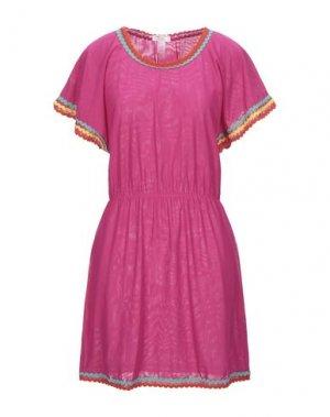 Короткое платье PIN UP STARS. Цвет: фуксия
