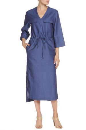 Платье Libellulas. Цвет: деним