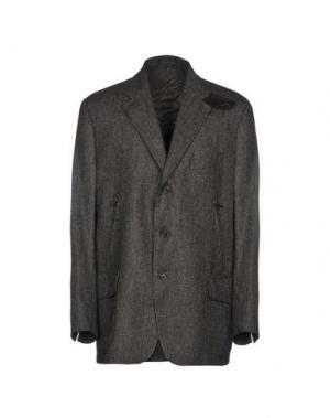 Пиджак NINO DANIELI. Цвет: темно-коричневый