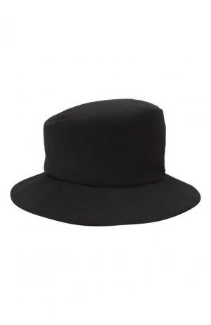 Шерстяная шляпа Y`s. Цвет: чёрный