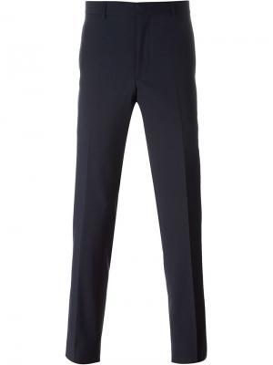 Классические брюки Polo Ralph Lauren. Цвет: синий