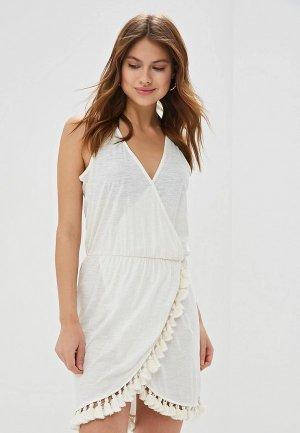 Платье Brunotti Liza. Цвет: белый