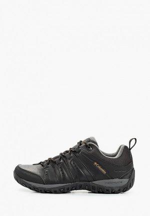 Ботинки трекинговые Columbia Nomad Waterproof. Цвет: черный