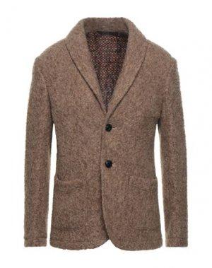 Пиджак DOPPIAA. Цвет: светло-коричневый