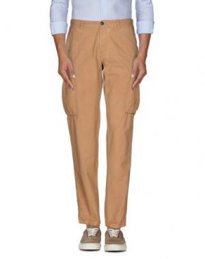 Повседневные брюки FRANKLIN & MARSHALL. Цвет: верблюжий