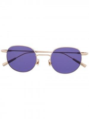 Солнцезащитные очки Karlheinz AMBUSH. Цвет: золотистый