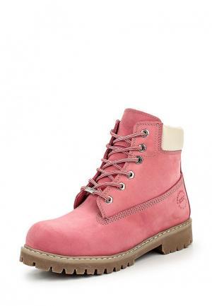 Ботинки Excavator EX905AWOJO29. Цвет: розовый