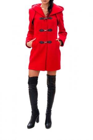 Coat RADEKS. Цвет: red