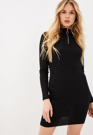 Платье Brave Soul. Цвет: черный