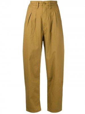 Levis укороченные брюки с завышенной талией Levi's. Цвет: нейтральные цвета