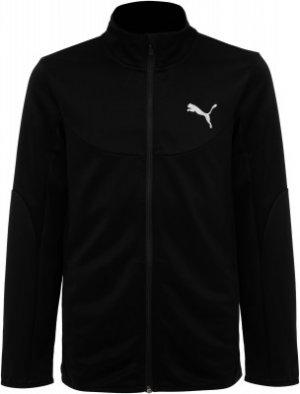 Олимпийка для мальчиков , размер 176-182 Puma. Цвет: черный