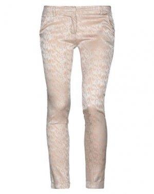Повседневные брюки H2O ITALIA. Цвет: бежевый