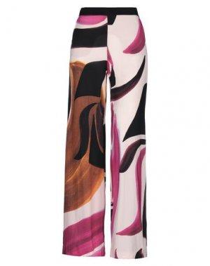 Повседневные брюки ANNA RACHELE. Цвет: розовый