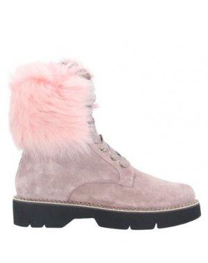 Полусапоги и высокие ботинки 181 by ALBERTO GOZZI. Цвет: светло-фиолетовый
