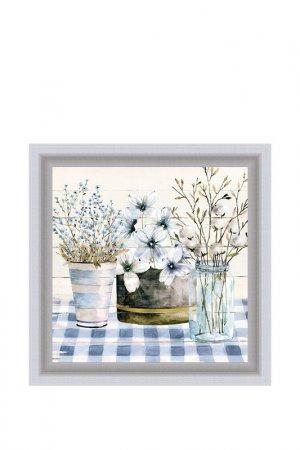 Картина-репродукция Прованс 1 Декарт. Цвет: белый, голубой