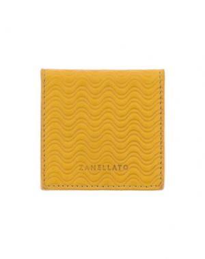 Бумажник ZANELLATO. Цвет: охра