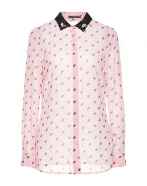 Pубашка GUESS. Цвет: розовый