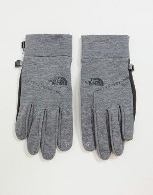 Серые перчатки -Серый The North Face