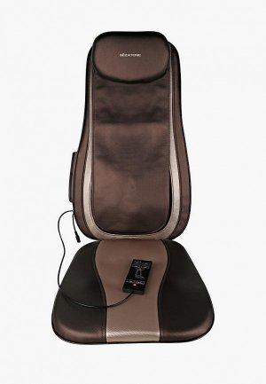Массажер для тела Gezatone кресло Easy Relax AMG 399SE. Цвет: коричневый