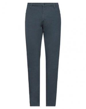Повседневные брюки ARMATA DI MARE. Цвет: грифельно-синий